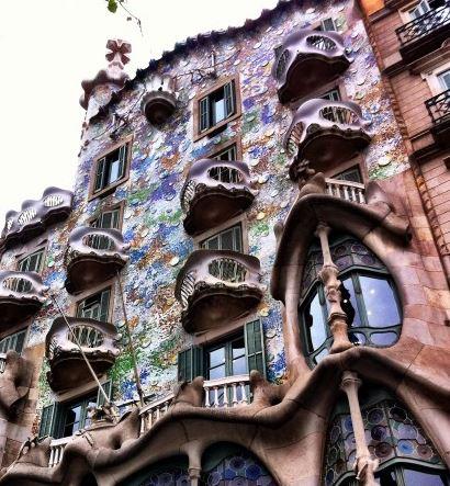 art nouveau elven architecture
